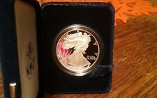 Walking Liberty Proof Coin, Slabbed, 1 Oz. 2006 Fine Silver No Mint Stamp