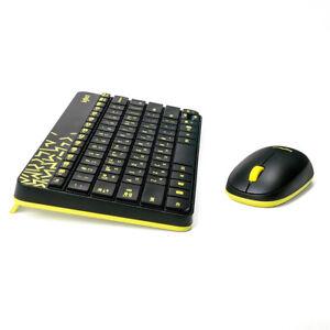 Wireless Keyboard and Moe Logitech MK240 Combo for Laptop Desktop w/USB Receiver
