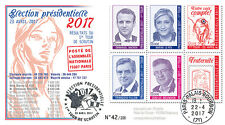 "FDC ""France Presidential 2017 1st round / MACRON, LE PEN, FILLON, MELENCHON"" T3"