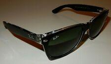 Ray-Ban Black&Clear Sunglasses 58[]18 145 3N 2132 6052 New Wayfarer