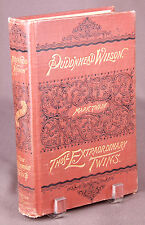 FIRST EDITION-Mark Twain-Pudd'nhead Wilson/Extraordinary Twins, printing 1894