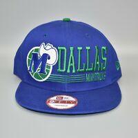 Dallas Mavericks New Era 9FIFTY NBA Hardwood Classics Retro Snapback Cap Hat