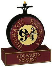 More details for harry potter clock - hogwarts express railway platform 9 3/4 - desk shelf - gift
