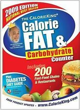 The CalorieKing Calorie, Fat and Carbohydrate Counter 2009 Calorie King