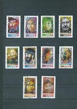 timbre de france oblitére  de 2019 série croix rouge
