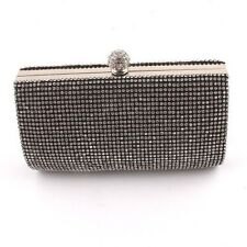 Evening Bag With Crystal Rhinestone On Both Sides
