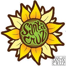 Santa Cruz Sunflower Flower Sticker Vinyl Decal by Tim Ward