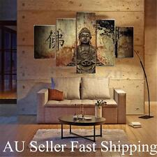 5pcs Buddha Large Modern Abstract Canvas Art Oil Painting Print Decor Unframed