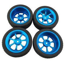 4Pc Alloy Rims & Tires RC Car Wheels for 1/18 WL Toys A949 A959 A969 A979