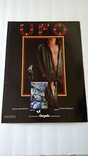 "UFO "" LIGHTS OUT  ""  1977   RARE ORIGINAL PRINT PROMO POSTER AD"