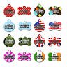 Cute I'm Chipped Pet Dog ID Tag For Collar Many Designs