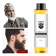 Mens Organic Beard Oil Hair Loss Spray Beard Growth Oil Plant Extracts 30ml