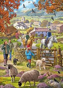 Otter House Autumn Walk Jigsaw Puzzle (1000 Pieces)