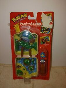Pokemon Adventure beach city squirtle 1999 vtg