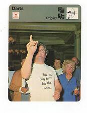 1979 Tommy O' Regan Sportscaster Darts Champion Card #53-08