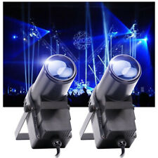U`King 2PCS 30W Stage Lighting RGBW LED DMX Pin Spot Club Disco Party Show Light