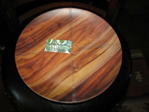 "Set of (4) TOMMY BAHAMA 11"" Dinner Plates (100% Melamine) Wood/ Wooden/Bamboo"