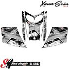 SLED WRAP DECAL STICKER GRAPHICS KIT FOR SKI-DOO REV MXZ SNOWMOBILE 03-07 SL6607
