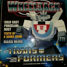 TRANSFORMERS WHEELJACK Cold Cast PORCELAIN BUST 257/2500 HARD HERO 2003
