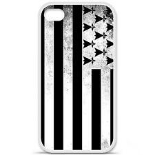 Coque housse étui tpu gel motif drapeau Bretagne Iphone 4 / 4S