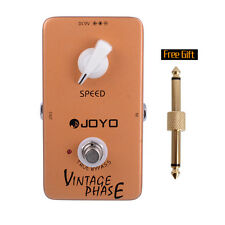 JOYO JF-06 Vintage Phase Phaser Guitar Effect Pedal True Bypass+1Gift connector