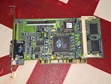 Ati 3D Rage Pro 4MB SGRAM PCI Mach64 Turbo 128