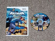 Batman: The Brave and the Bold - The Videogame Nintendo Wii Game & Case
