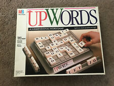 Upwords Game 100% Complete Vintage 1988 Milton Bradley