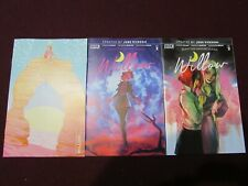 Buffy The Vampire Slayer Willow #2 Lot of 3 (Standard, Andolfo, & Valero Variant