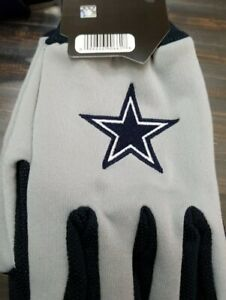 Dallas Cowboys Two Toned Team Colors Sport Utility Gloves Winter Summer NWT