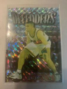 1997-98 Topps Finest #289 Embossed Jason Kidd Refractor #/263 Suns Mint