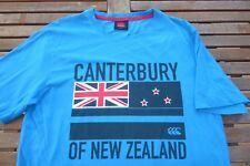 CANTERBURY OF NEW ZEALAND 100% COTTON T-SHIRT TOP SMALL