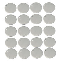 Metal Stamping Blanks Charms Stainless Steel Jewelry Tags Charms 12mm
