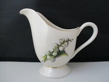 "FINE ARTS LILY OF THE VALLEY CREAMER  4 3/8"" -1207J"