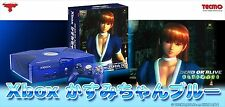 Xbox Kasumi-chan Blue Dead or Alive Limited Edition Console JAPAN EMS
