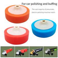 Car Polishing Head Buffing Mop Pad Sponge Soft Foam 6'' 150mm M14 Thread Drill