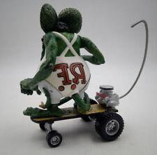 Rat Fink Sidewalk Surfer Skateboard Loose Toy Big Daddy Ed Roth Action Figure