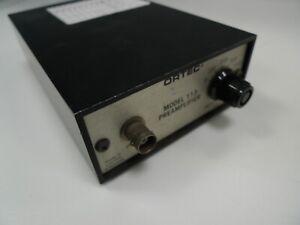 EG&G Ortec 133 Preamplifier Preamp