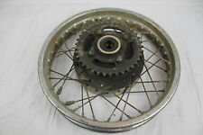 81 YAMAHA XS400 XS 400 REAR BACK WHEEL RIM WITH SPROCKET