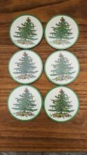 New listing Pimpernel Christmas Tree Holiday Coasters Set Spode Set Of Six