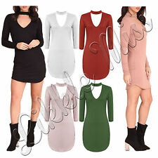 Unbranded Viscose Patternless Mini Dresses for Women