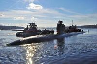 Nuclear Attack Submarine USN Navy Photo Print USS MINNEAPOLIS ST PAUL SSN 708