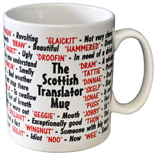 Scottish Scots Slang Dialect Coffee - Tea Mug - Joke - Idea Gift / Secret Santa