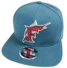 New Era Florida Marlins OSCURO Cerceta MLB COOPERSTOWN GORRA SNAPBACK 9fifty