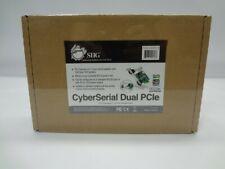 Siig Jj-E10D11-S3 CyberSerial Dual Pcie *New Unused*
