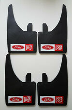 FORD RS RED Universal MUDFLAPS (SET OF 4 )