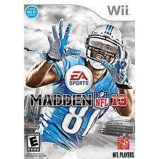 Nintendo Wii Game Disc MADDEN NFL 13