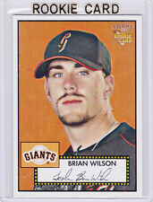 Brian Wilson 2006 ROOKIE CARD Baseball SAN FRANCISCO GIANTS $$ RC Topps DODGERS