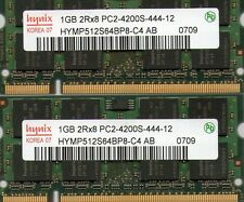 "2GB 2x 1GB Kit Apple PowerBook G4 1.67GHz 15"" 17"" Hi-Res DDR2 Laptop Memory"