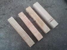 "Woodturning Pen Blanks x 4 - Oak  1"" x 1"" x 6"""